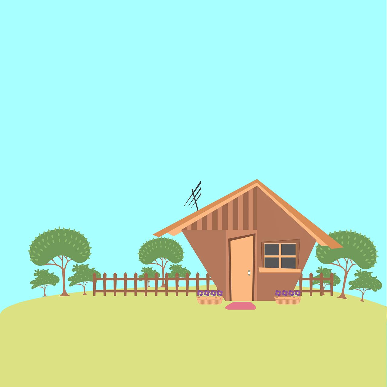 House Home Trees Garden Fence  - andremsantana / Pixabay
